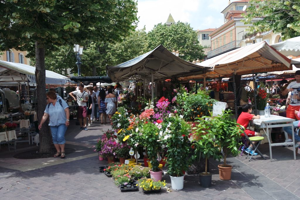 Marché aux fleurs - Cours Saleya